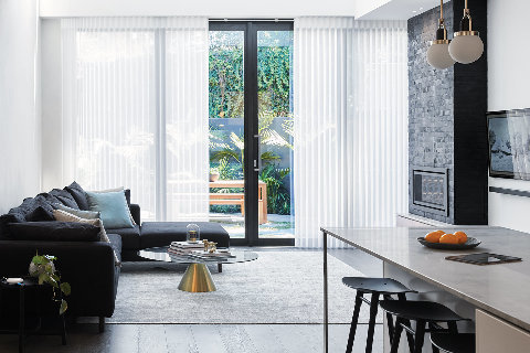 luxaflex blinds showroom style