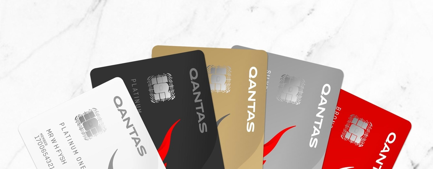 Qantas Frequent Flyers membership cards