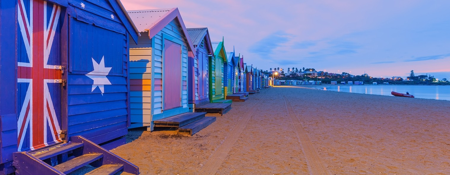 Brighton bathing houses