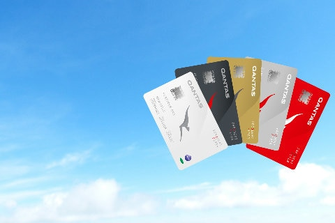 Qantas Frequent Flyer membership cards