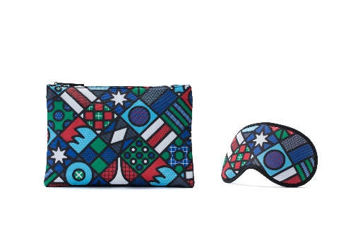 amenity kit and eyemask