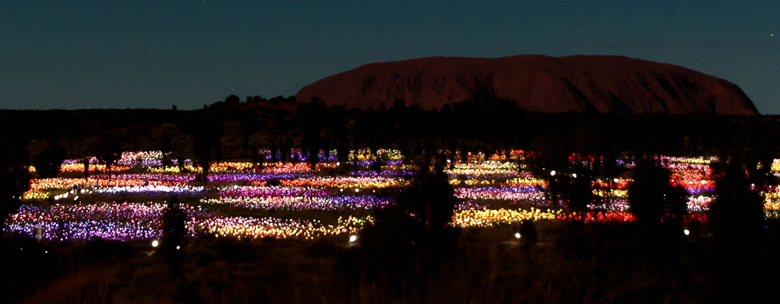 Uluru Field of Light