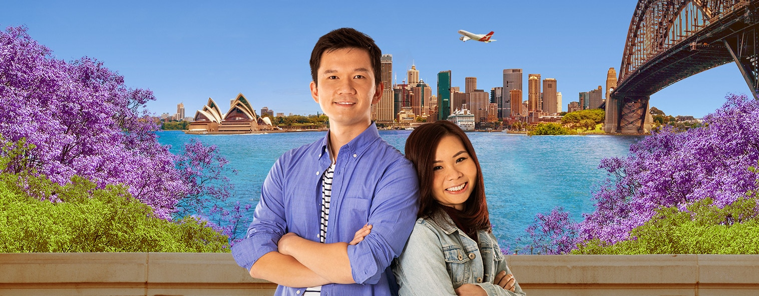 Alvin and Fiona in Sydney